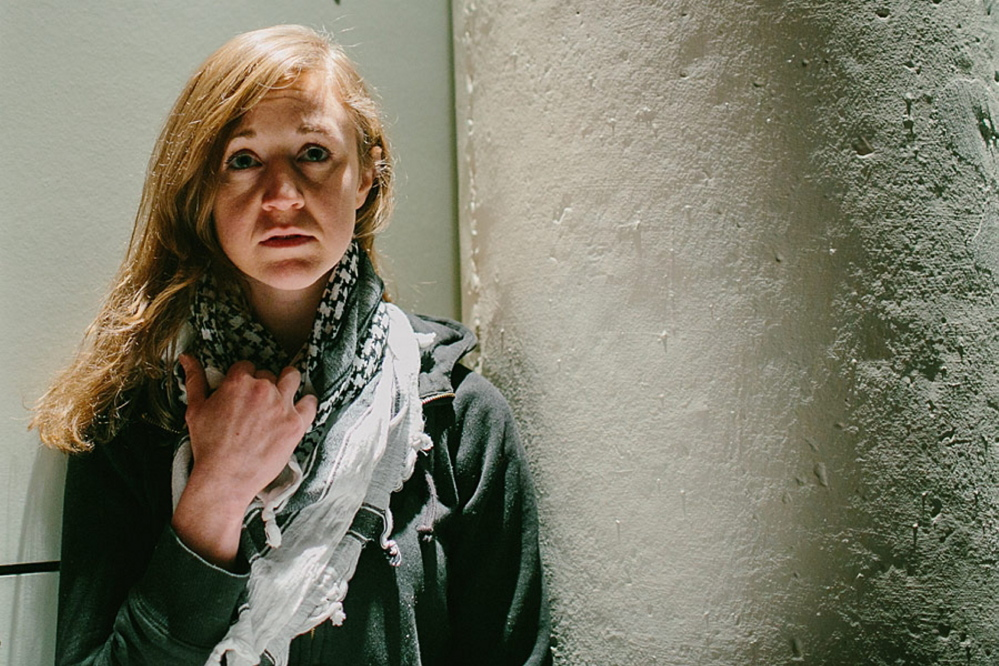 My Name is Rachel Corrie performed by Casey Turner (2013 PEER Award-winner for Eurydice) in the Dramatic Repertory Company's play held at the Michael Klahr Center in Augusta, March 21 -23. FMI please visit the calendar page at hhrc.uma.edu.