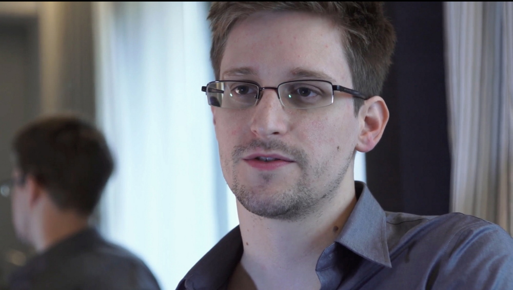 This June 9, 2013, photo provided by The Guardian Newspaper shows National Security Agency leaker Edward Snowden, in Hong Kong.