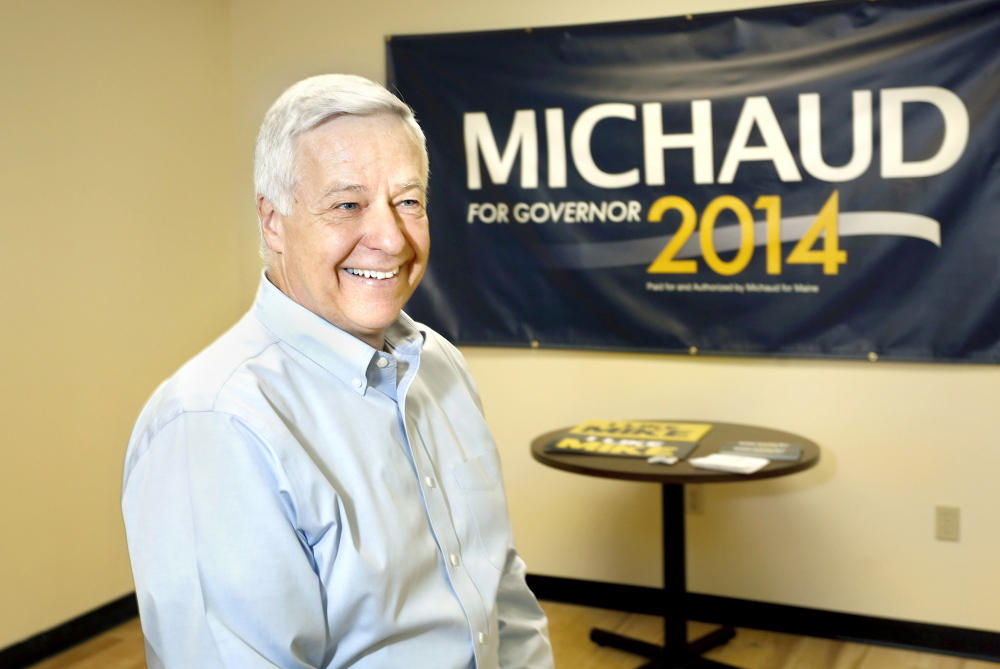 U.S. Rep. Mike Michaud, a Democratic candidate for Maine governor, has already raised $1 million in donations.