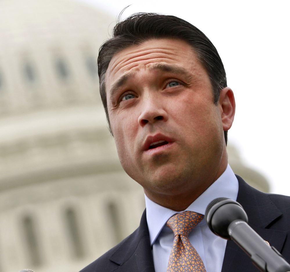 "U.S. Rep. Michael Grimm, R-N.Y., initially issued a statement saying he doubted he was the ""first member of Congress to tell off a reporter."" Reporter Michael Scotto said Grimm's subsequent apology sounded sincere."
