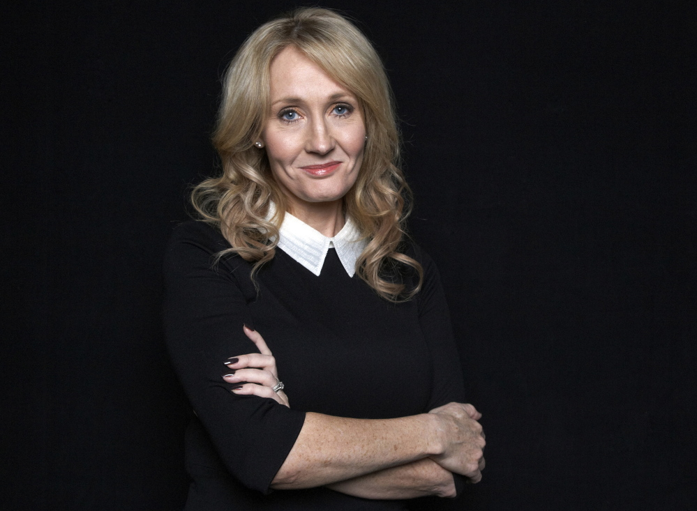Author J.K. Rowling says she is having second thoughts about ending her Harry Potter series with heroine Hermione Granger paired up romantically with Ron Weasley.