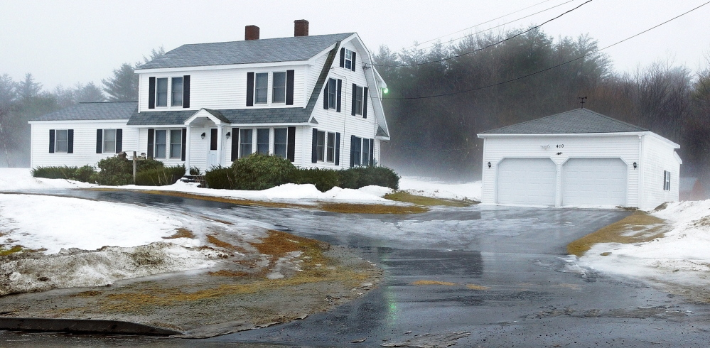 ZONING CHANGE NEEDED: The home at 410 Old Belgrade Road, where a hospitality house is proposed.