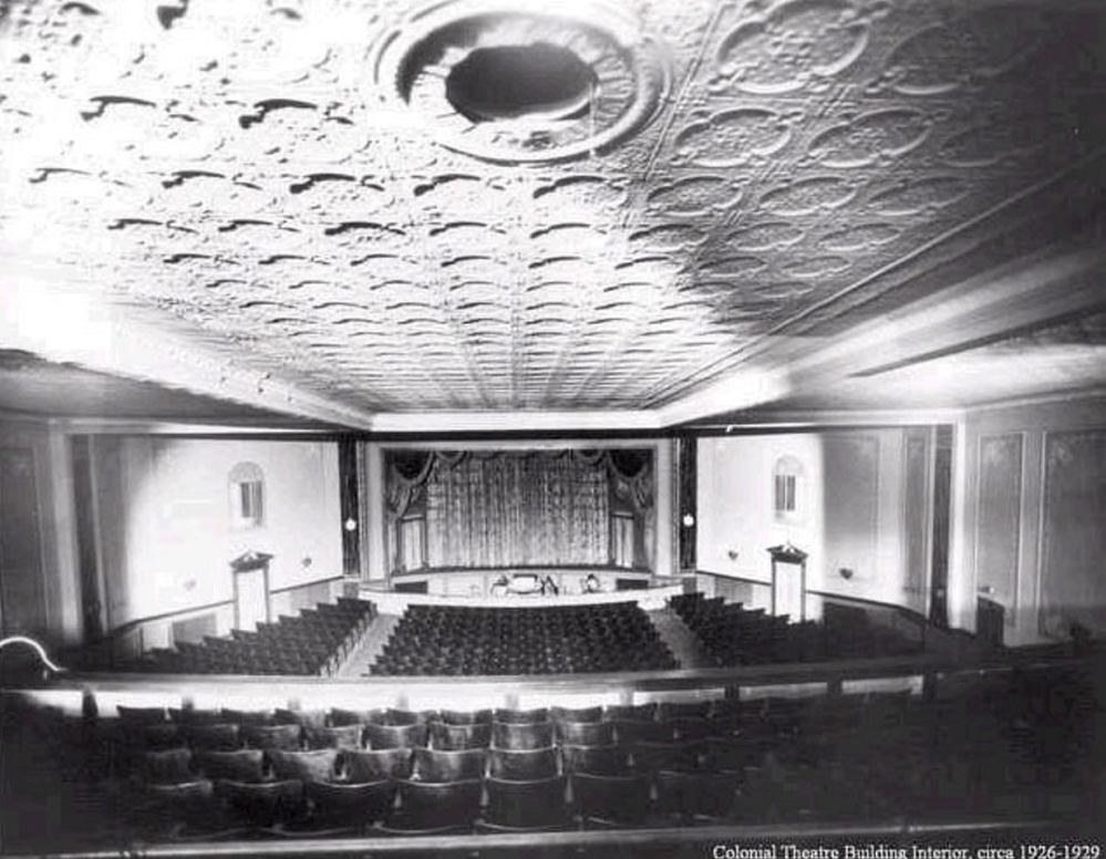 Staff file photo This is a contributed circa 1926-29 shot of Colonial Theater on Water Street in downtown Augusta.