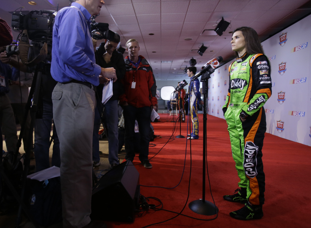 LEAVING IT ALONE: Driver Danica Patrick has brushed off recent criticism of NASCAR legend Richard Petty, who said Patrick only receives attention because she is female.