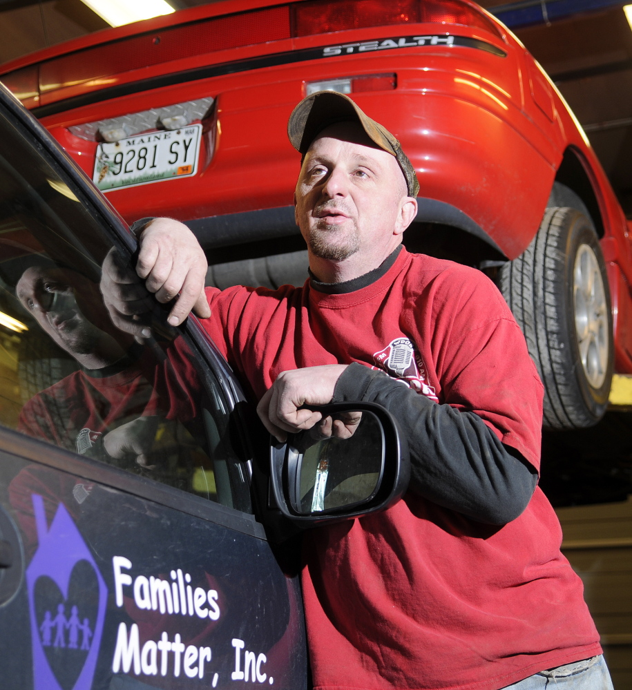 ON THE MOVE: Mechanic Dexter Fawcett is moving his automotive service business, P.L.R. Automotive, after Hallowell officials determined it was located inappropriately in a residential zone of the city.