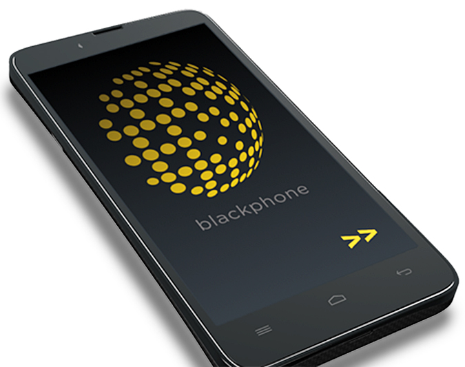 The Blackphone looks like a regular Android phone, but it's powered by PrivatOS, an operating system that works with privacy-enabled applications.