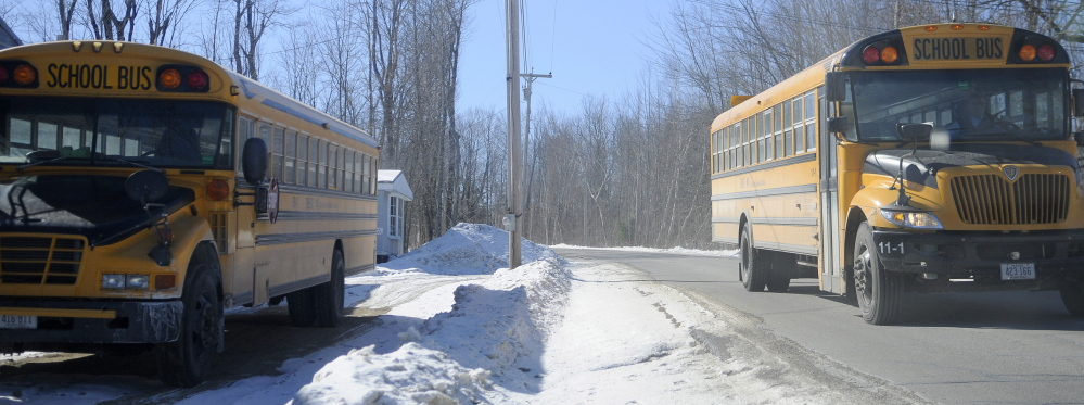 bus vote: Regional School Unit 4 is debating privatized busing again, and the school board could vote on it as soon as Wednesday.