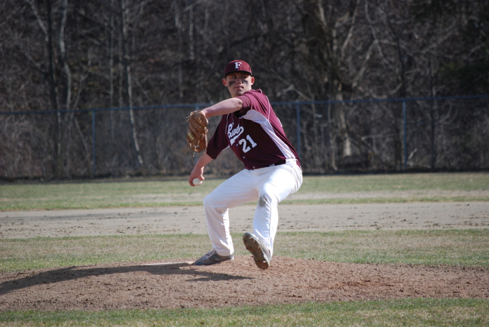 BIG YEAR AHEAD: Tom Grady is slated to play centerfield every day in what his coach expects to be a big year for the sophomore out of Erskine Academy.