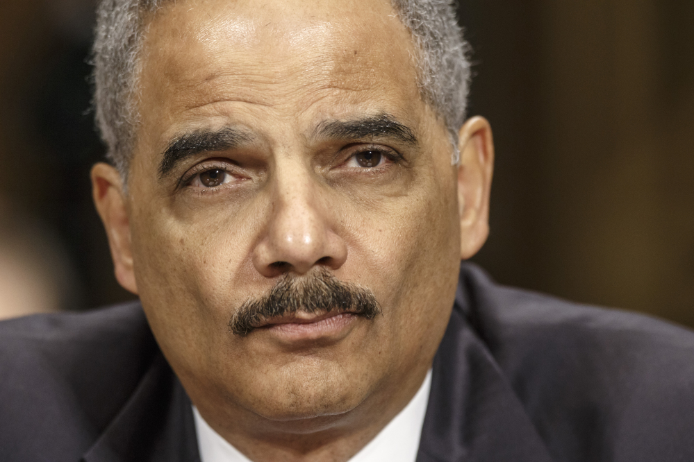 "Attorney General Eric Holder: ""This focused reliance on incarceration is not just financially unsustainable – it comes with human and moral costs that are impossible to calculate."""