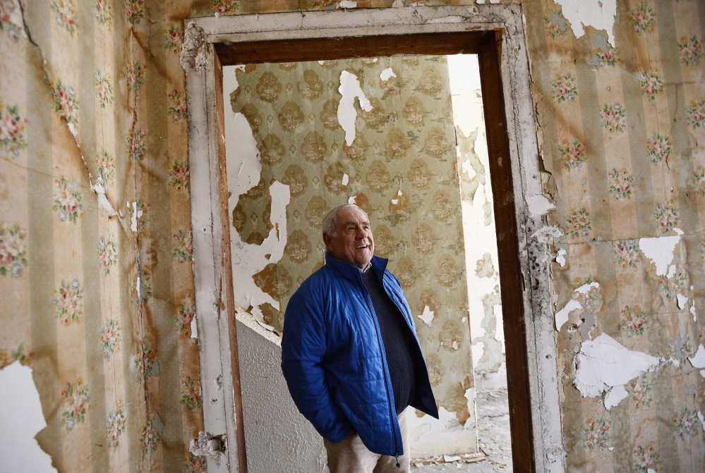 Don Gean, 71, the leader who spent a career transforming the York County Shelter Programs and will retire this spring, returns to where it all began three decades ago, the crumbling jail in Alfred where homeless people had stained mattresses to sleep on and little else.