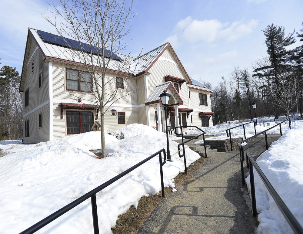 Among Gean's achievements are modern, solar-powered units, like this one, which serves as long-term housing for adults.