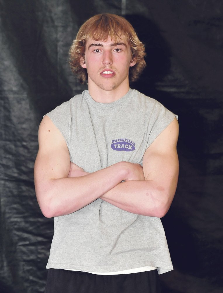 Staff photo by David Leaming Troy Gurski is Morning Sentinel Boys Track Athlete of the Year.