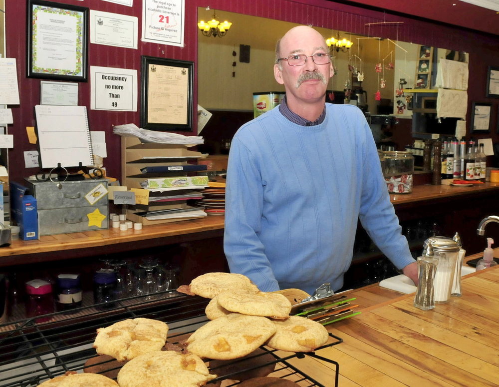 BUSINESS IMPACT: Vittles Restaurant owner Robert Phelan said Wednesday the Pittsfield business will likely be reduced after the announcement that nearby United Technologies Corp. Fire & Security company would will close in a year, laying off 300 employees.