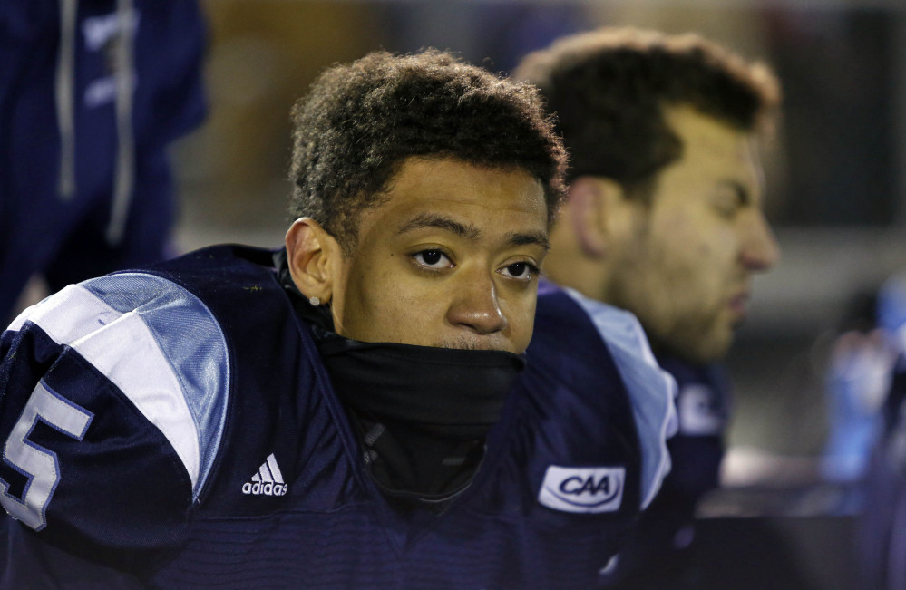 Maine cornerback Kendall James is hoping to be selected in the NFL draft in May, and Monday he gets a chance to perform for seven NFL scouts in Orono.