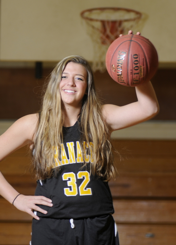 Player of the Year: Maranacook Community High School's Christine Miller is the Girls Basketball Player of the Year.