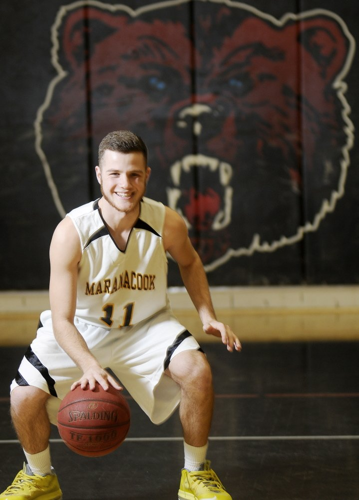 Player of the Year: Maranacook Community High School's Taylor Wilbur is the Kennebec Journal's mens basketball player of the year.