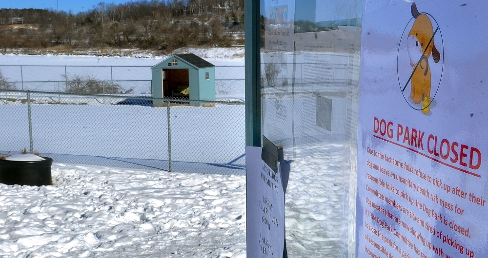 ANOTHER TRY: Volunteers and city officials say the Augusta dog park could reopen as soon as Tuesday.