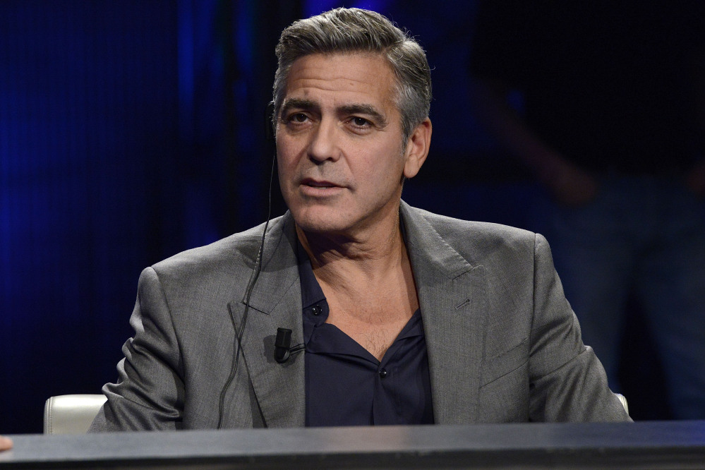 Actor George Clooney is engaged, according to a London law firm, which has congratulated one of its lawyers on her engagement to Clooney.