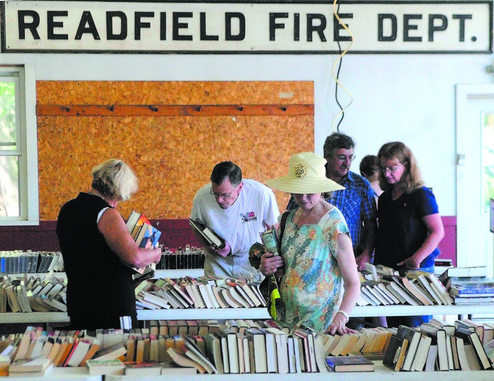 SCALING BACK: Readfield voters will decide in May whether to make Readfield Heritage Days — which includes a book sale and car show — an every-other-year event.