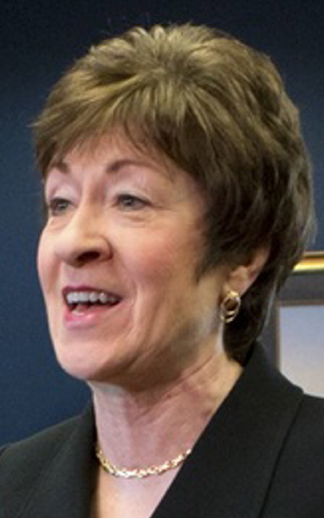Republican Sen. Susan Collins is seeking a fourth term in the U.S. Senate.