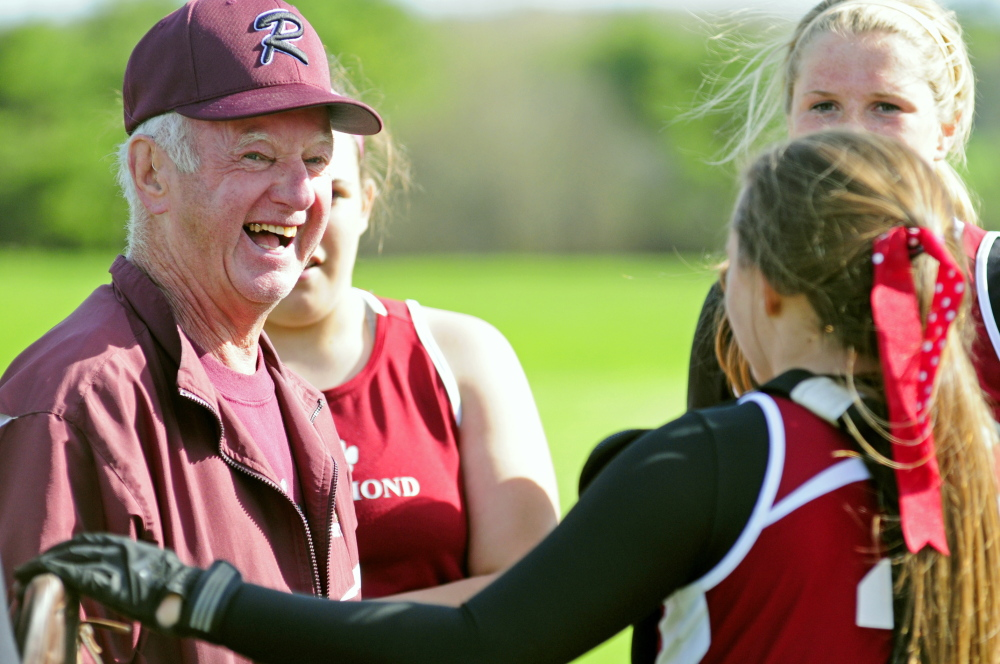 LONG-TIME LEADER: Richmond softball coach Rick Coughlin has coached the Bobcats for 28 seasons. Richmond has appeared in five state championship games, winning three, in the last 10 years.