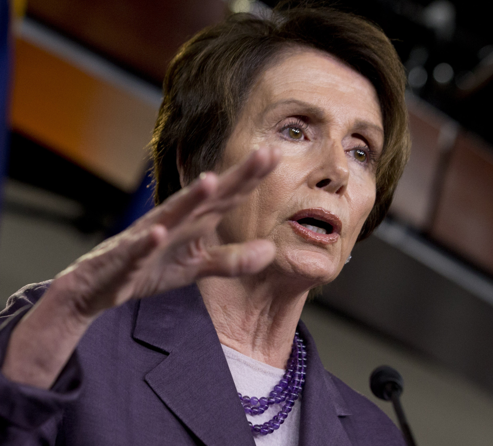House Minority Leader Nancy Pelosi will appoint the full complement of five Democrats on the 12-member panel.