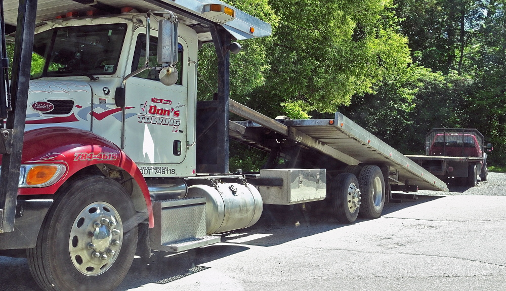 Bees: The driver of a flatbed tow truck was stung by a bee near the Wayne fire station on Wednesday.