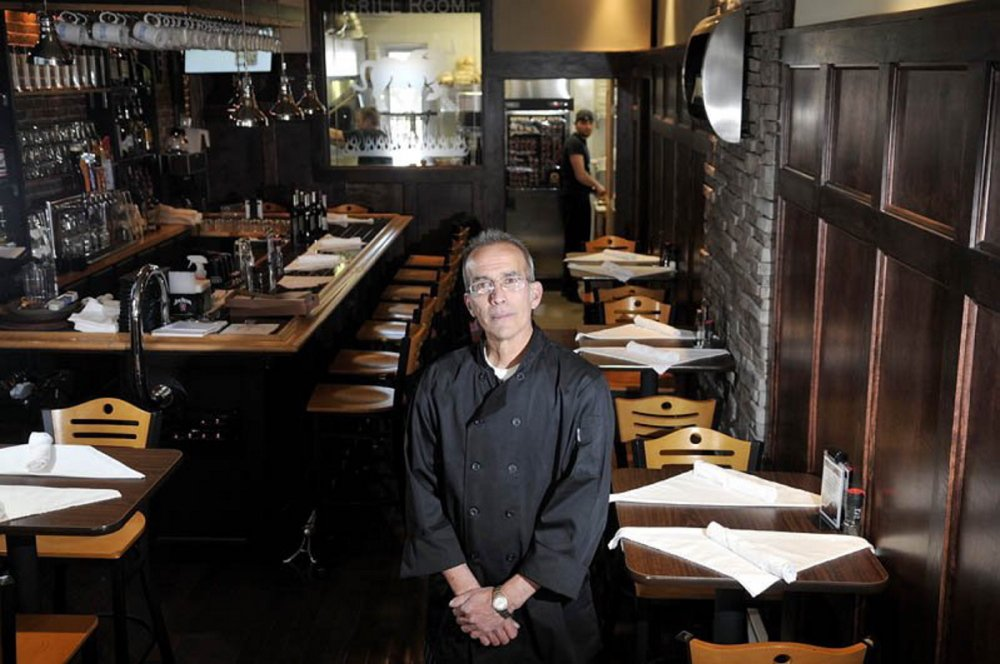 Peter Powers opened Alex Parker's Steakhouse in April 2013 with the help of city economic development money.