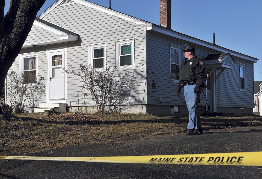 Maine State Police have taped off the residence where 20-month-old Alyla Reynolds was last seen last seen in a picture taken Dec. 22, 2011.