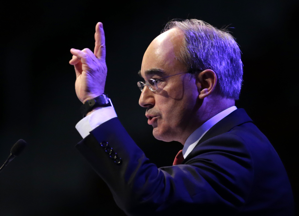 U.S. Rep. Bruce Poliquin, R-2nd District, was among just three House Republicans who voted against the chamber's 56th attempt to repeal the Affordable Care Act.