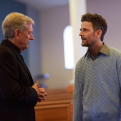"""Actor Michael Murphy, left, seen here in the movie """"Fall,"""" will be the Maine International Film Festival's Mid-Life Achievement Award winner next month. """"Fall"""" will premiere July 16 at the festival in Waterville. The 10-day festival opens Friday."""