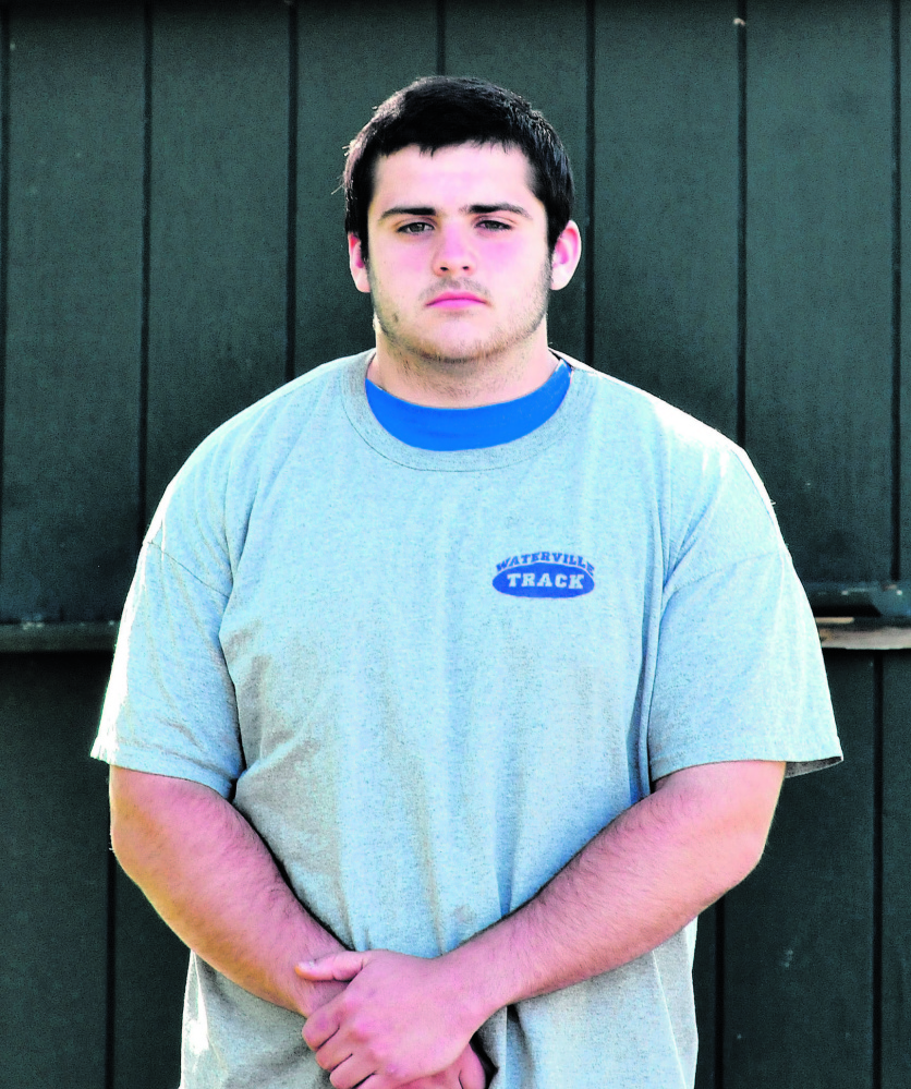 Waterville's Trever Gray is the Morning Sentinel Boys Track and Field Athlete of the Year.