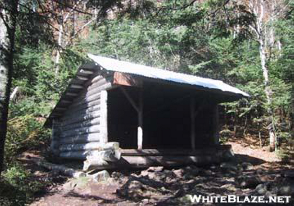 The Poplar Ridge Lean-to, where Geraldine Largay was last seen before disappearing.