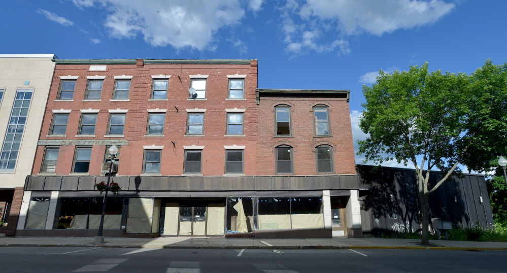 Colby College has plans to develop the Levine's building at 9 Main St. in Waterville as part of its effort to help revitalize that section of downtown Waterville.