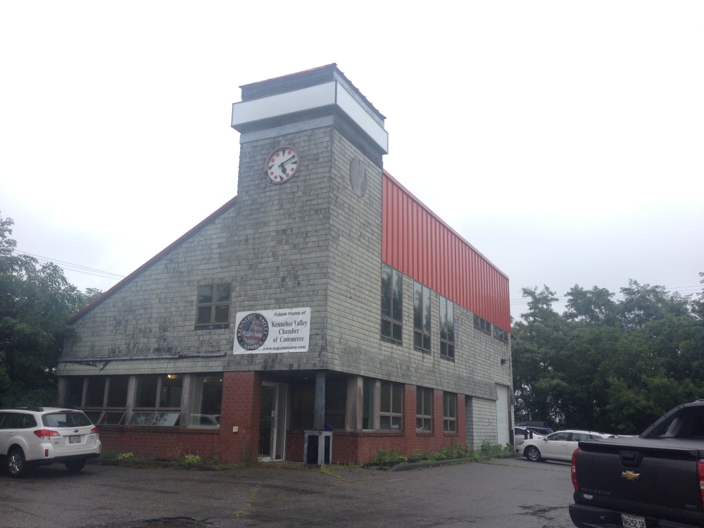The building at 269 Western Ave. will be the new home of the Kennebec Valley Chamber of Commerce later this year.