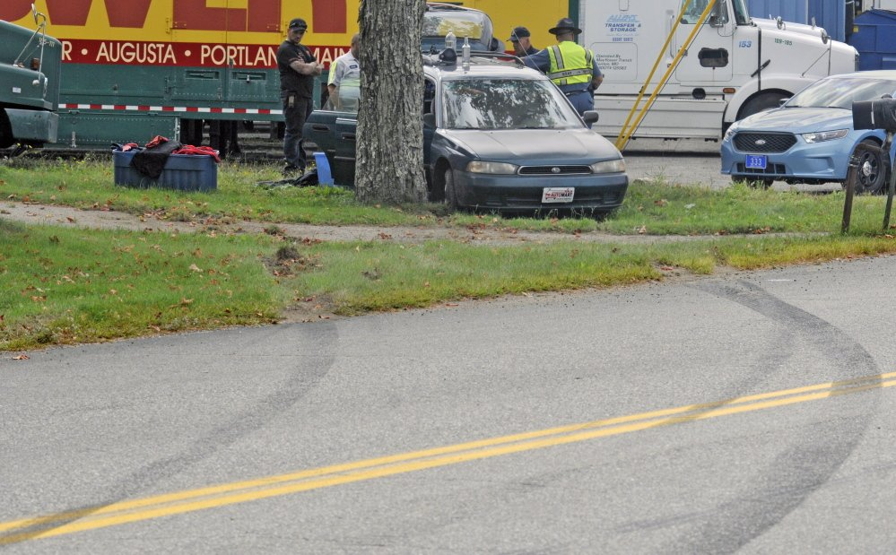 skid car car chase through augusta sidney manchester ends on leighton