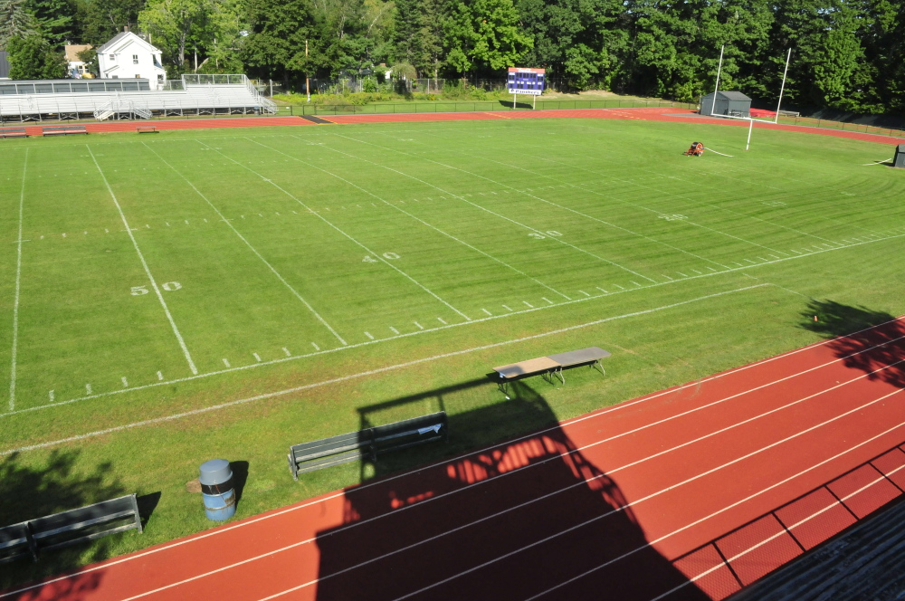 On Sept. 25, Waterville's Drummond Field will use lights for the first time as the Purple Panthers host Oceanside.