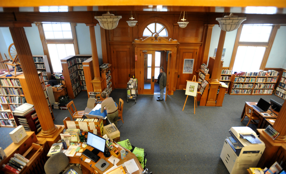 The Wilton Library is celebrating the 100th year in it's building on Goodspeed Street. Talking with the library's director to discuss the role the library has played in Wilton's community over the last 100 years..