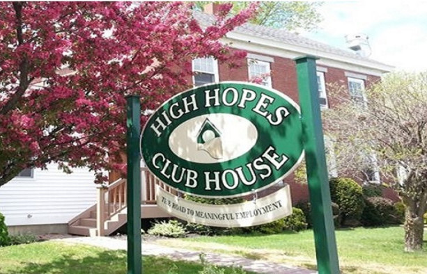 High Hopes Clubhouse, on College Avenue in Waterville, will be the beneficiary of a golf tournament hosted by the Waterville Police Department. The organization helps people with mental illness get jobs.