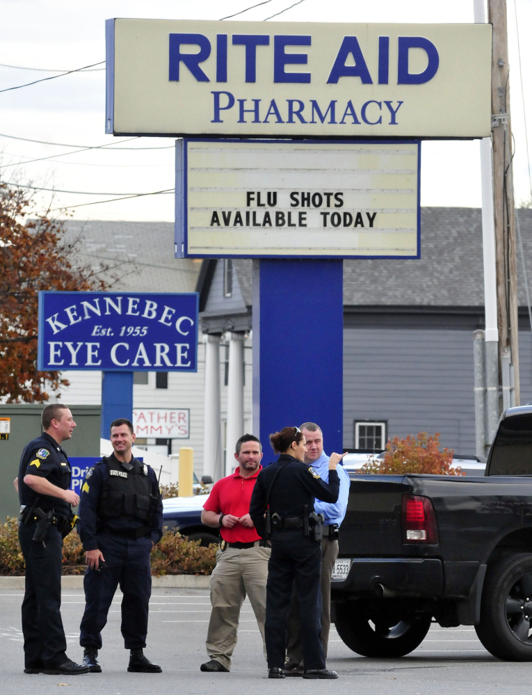 Waterville Police Hunt For Rite Aid Robber