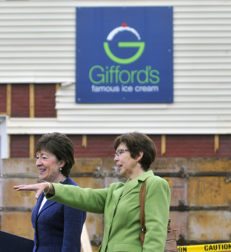 Gallery gifford 39 s ice cream ground breaking ceremony for Charlie s motor mall augusta maine