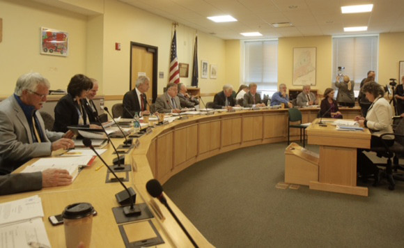 In this file photo, the OPEGA Committee opens a hearing in Augusta.