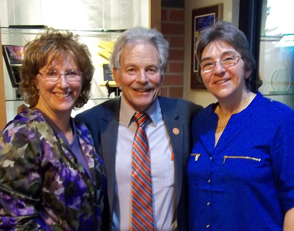 From left, are Elizabeth Keene, Chip Morrison and Jacqueline Fournier.