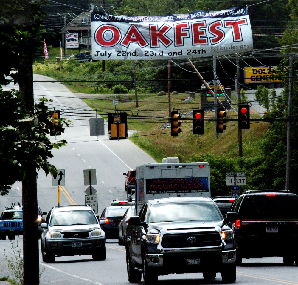 Oakland is gearing up for OakFest, set for the weekend of July 22 to 24, with events that include a fishing derby, parade, live music, Main Street dancing and a triathlon.
