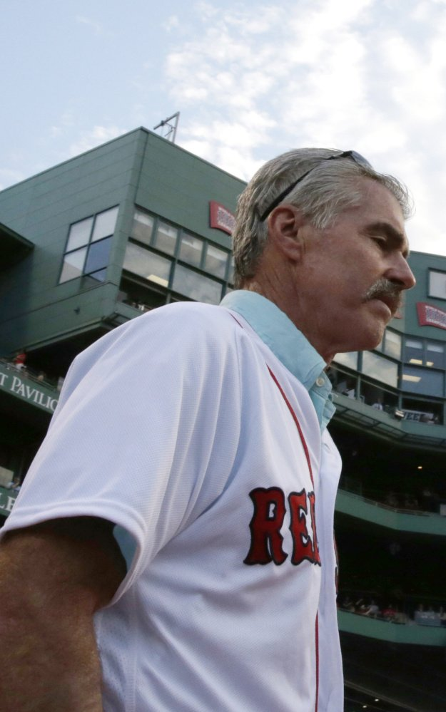 Bill Buckner makes it clear: He's thrilled with his 22-year career, his batting title, playing in two World Series … and if a tough error was the price, so be it. He's fine with that.