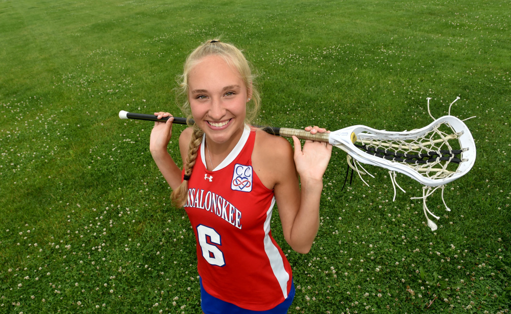 Messalonskee's Ally Turner is the Morning Sentinel/Kennebec Journal Girls Lacrosse Player of the Year.