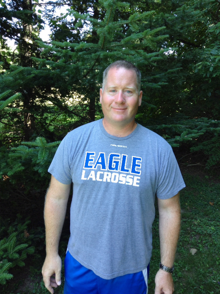 Messalonskee coach Tom Sheridan is the Kennebec Journal and Morning Sentinel Boys Lacrosse Coach of the Year.