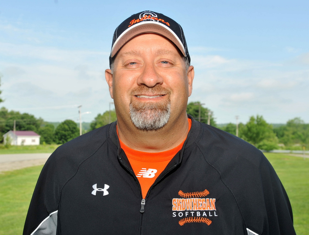 Skowhegan's Lee Johnson is the Morning Sentinel Softball Coach of the Year.