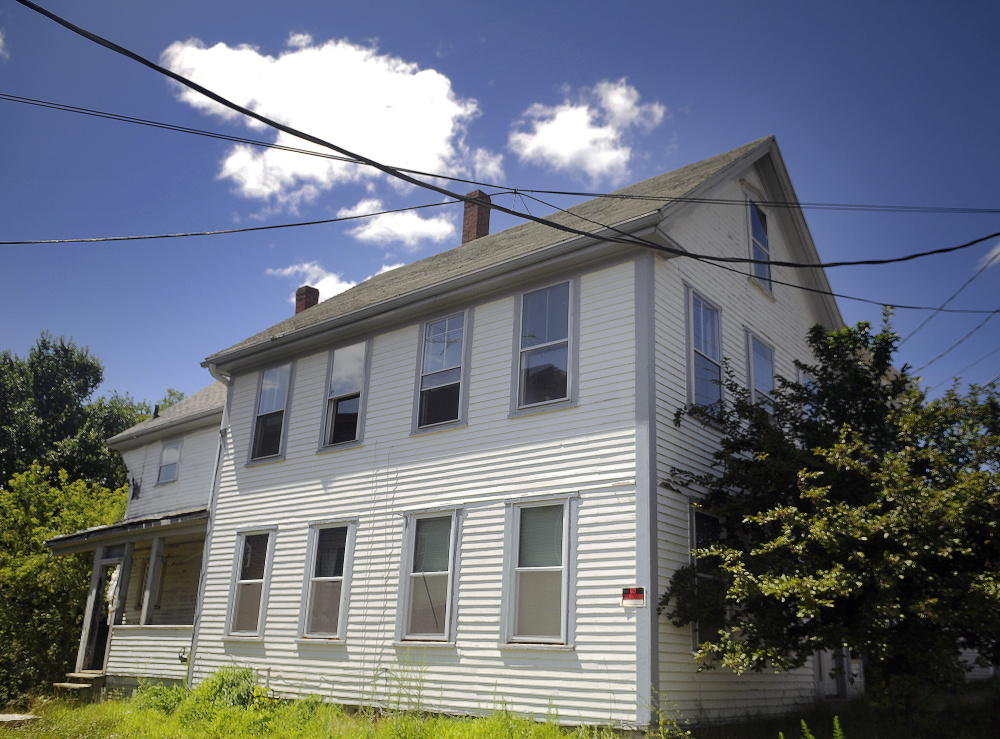 This building at 110 Northern Ave. in Augusta was damaged by fire in 2014 and foreclosed on, and now the city is looking to sell it to a man who plans to renovate it as a single-family home.