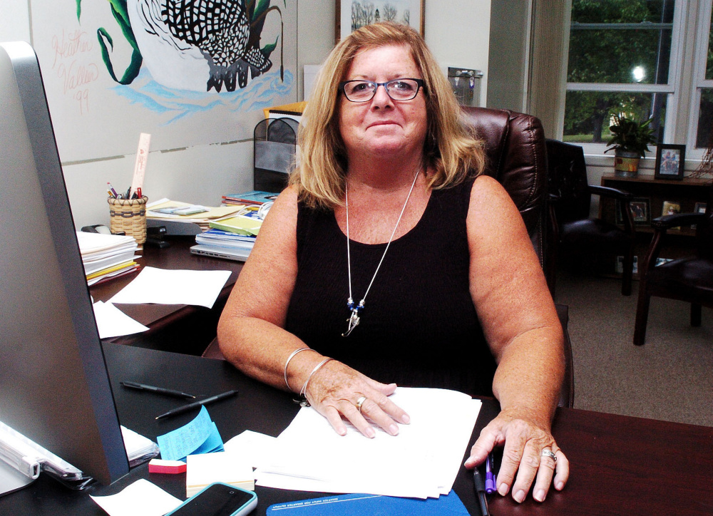 Bonnie Levesque is the School Administrative District 59 interim superintendent in Madison.